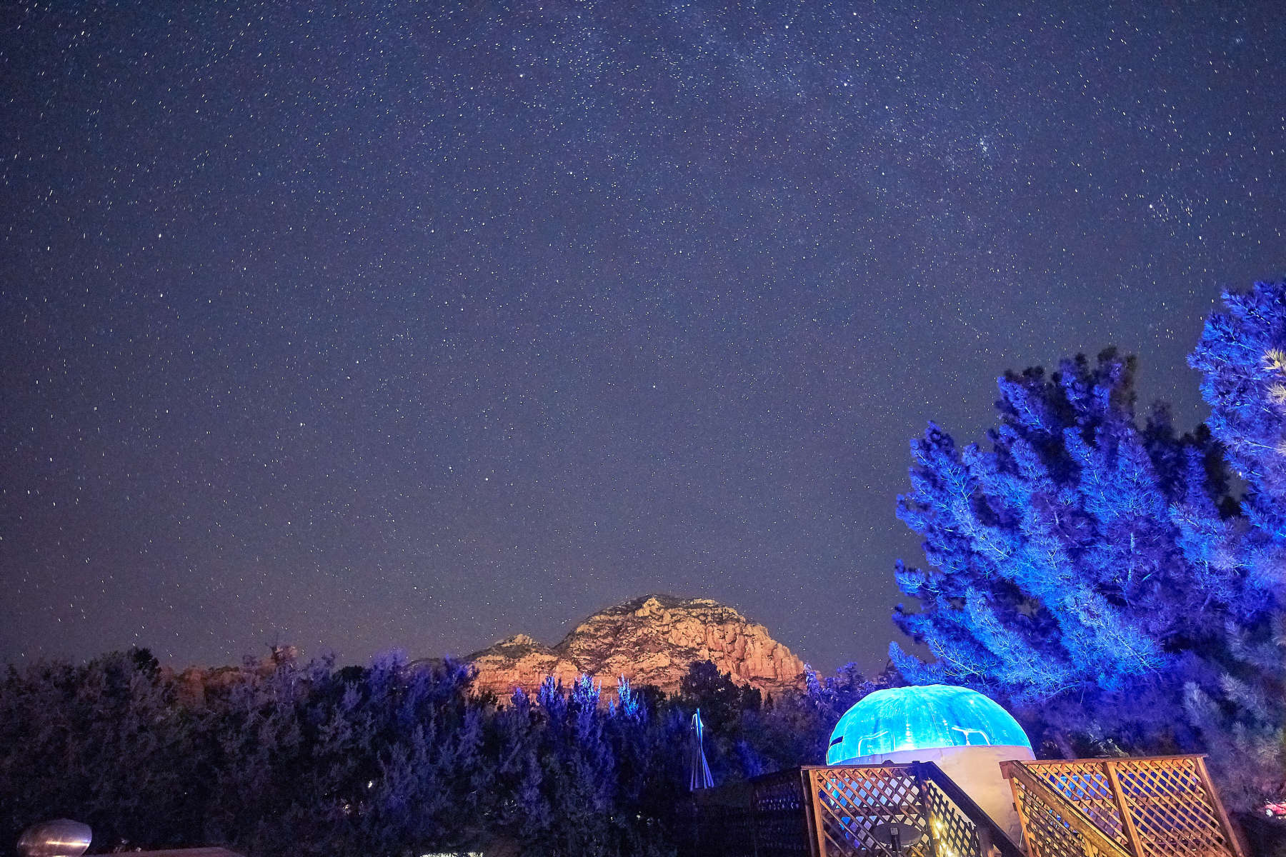 Stargazing Bubble Sedona Arizona