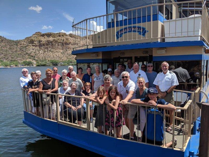 Sunset Wine Cruise Guests Arizona Tonto National Forest