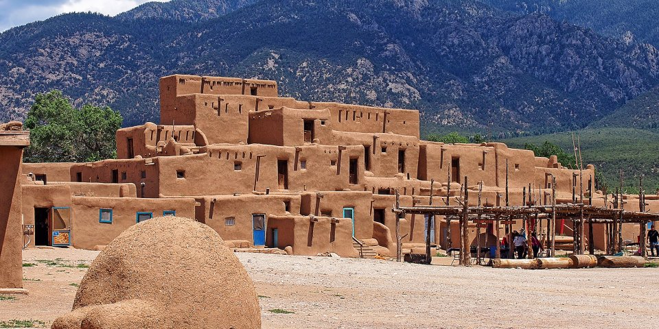 The Taos Pueblo has been continuously inhabited for over 1,000 years. After the coronavirus leaves New Mexico, people will continue to inhabit this area for thousands of years more.