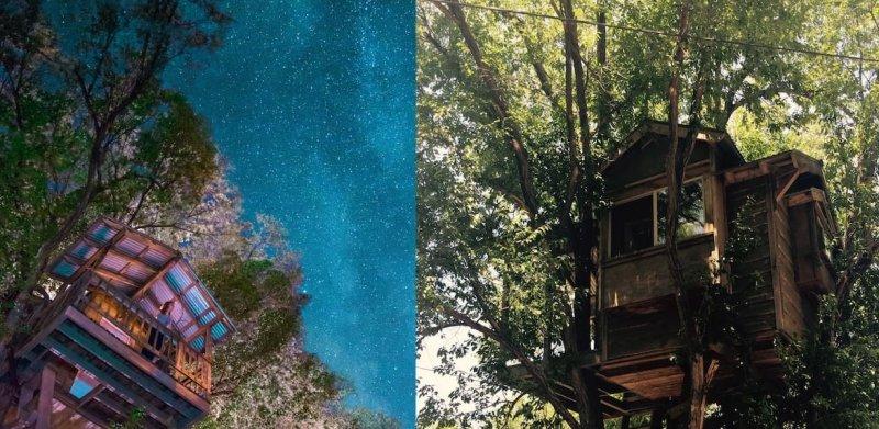 Treehouse Hotel Airbnb Prescott Arizona