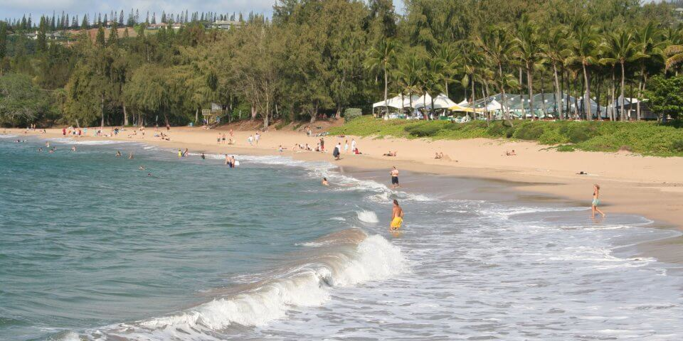 fleming beach park maui hawaii