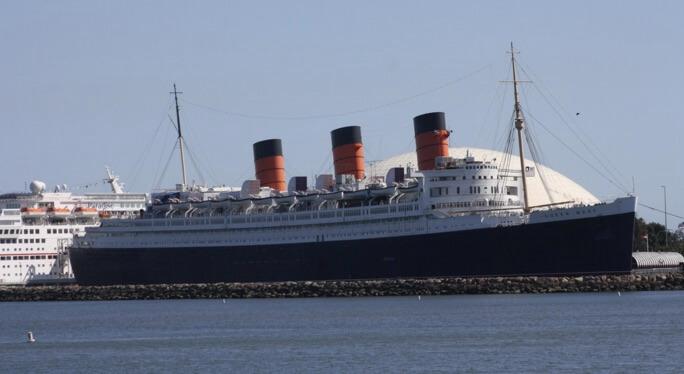 Queen Mary in Long Beach, California