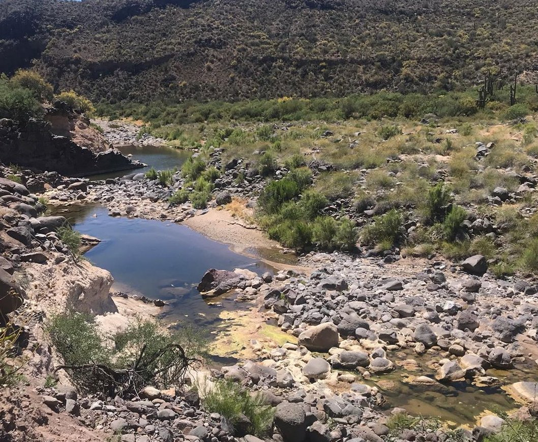 Agua Fria River AZ Gold
