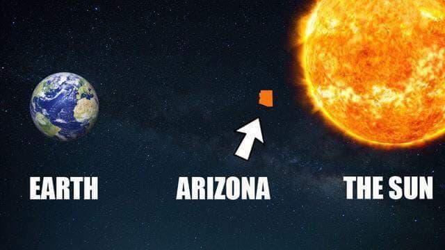 Arizona Sun Super Hot