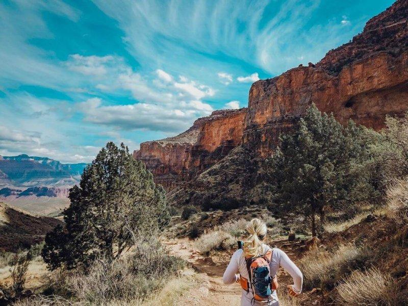 Bright Angel Trail AZ Hikes