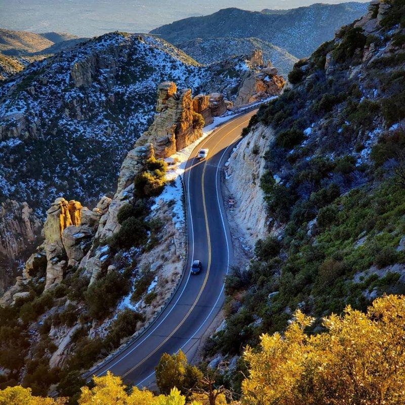 Catalina Highway Mt. Lemmon Arizona