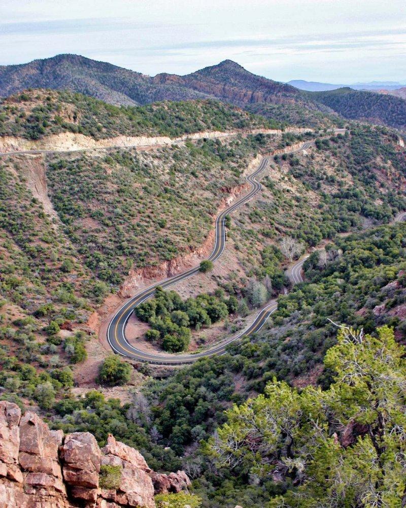 Coronado Trail US 191 AZ Dangerous Roads in the World