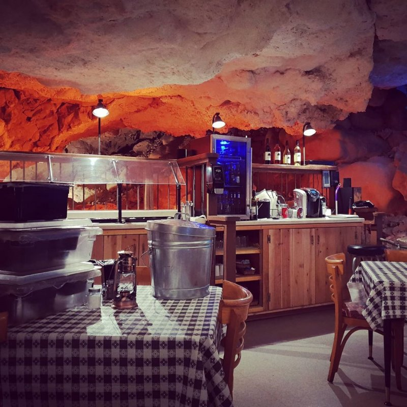 Underground Dining Area Grotto Arizona
