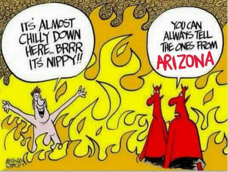 Hell in Arizona Meme