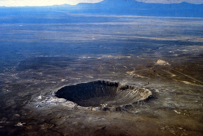 Meteor Crater AZ Barringer Arizona