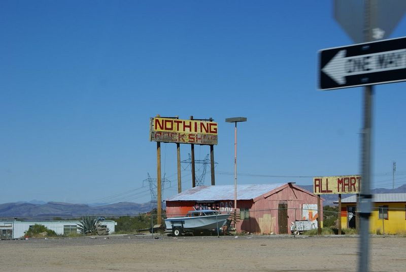 Nothing  funny Arizona town names