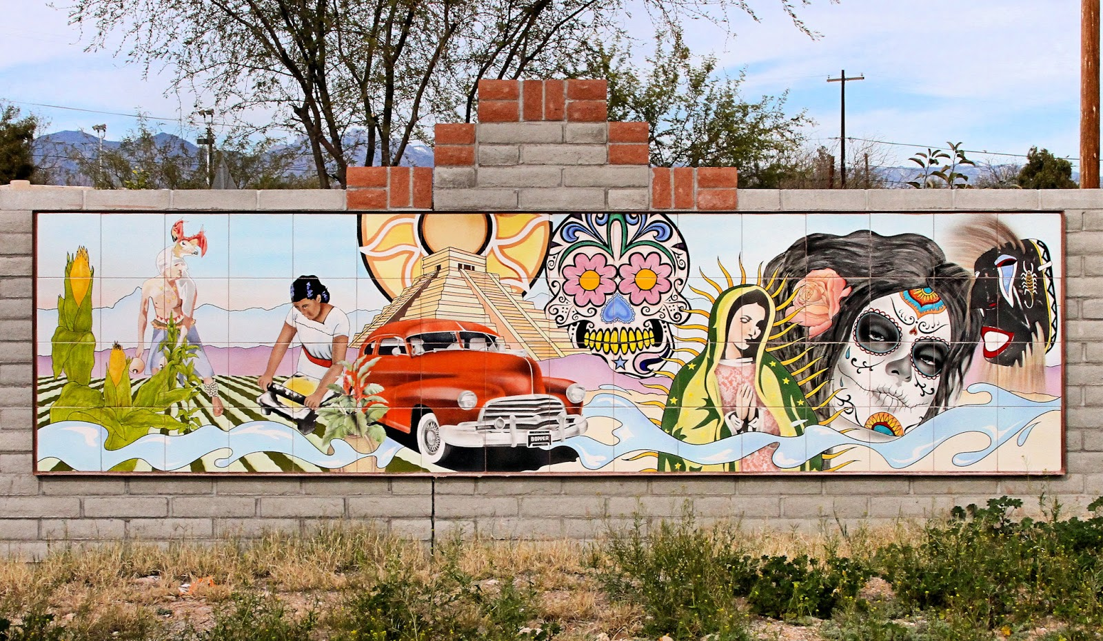 Primavera Foundation's Public Art Mural Beautiful