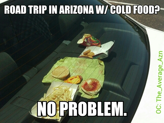 Road Trip with Cold Food AZ