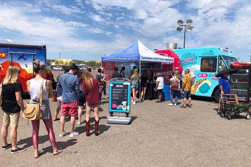 Taco Booths Arizona Taco Festival