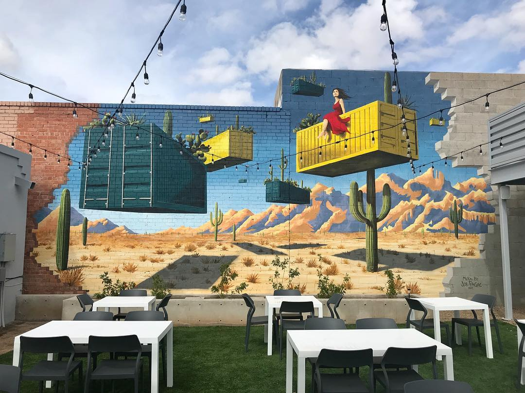 The Boxyard Mural Restaurant