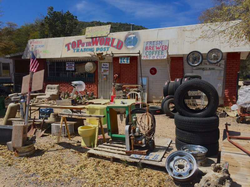 Top-of-the-World Trading Post funny Arizona town names