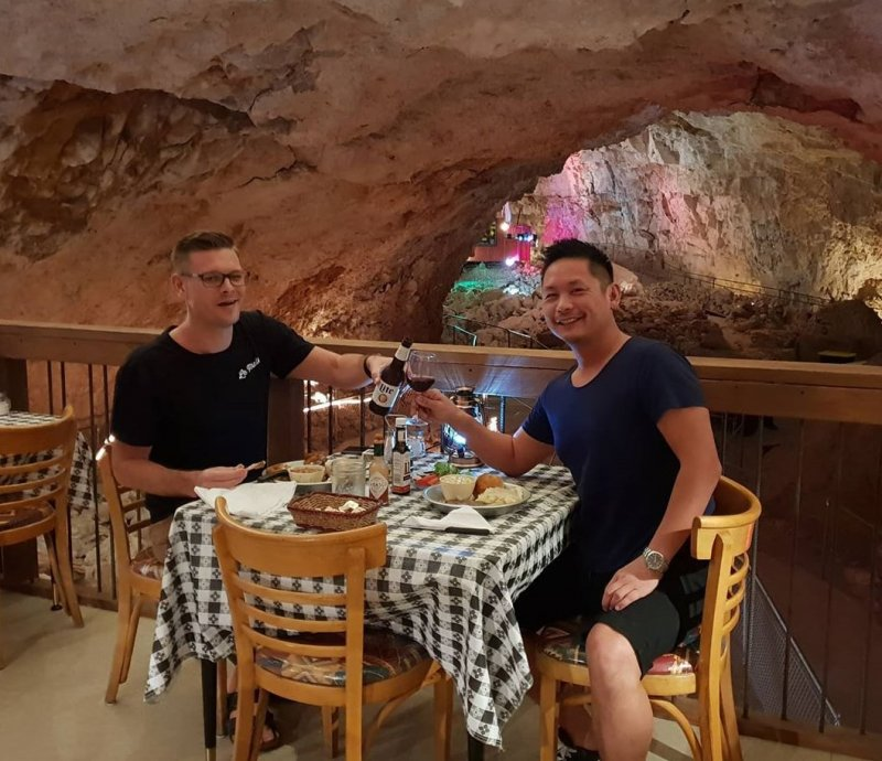 Underground Dining grand Canyons Arizona