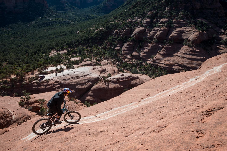 White Line Mountain Bike Trail AZ