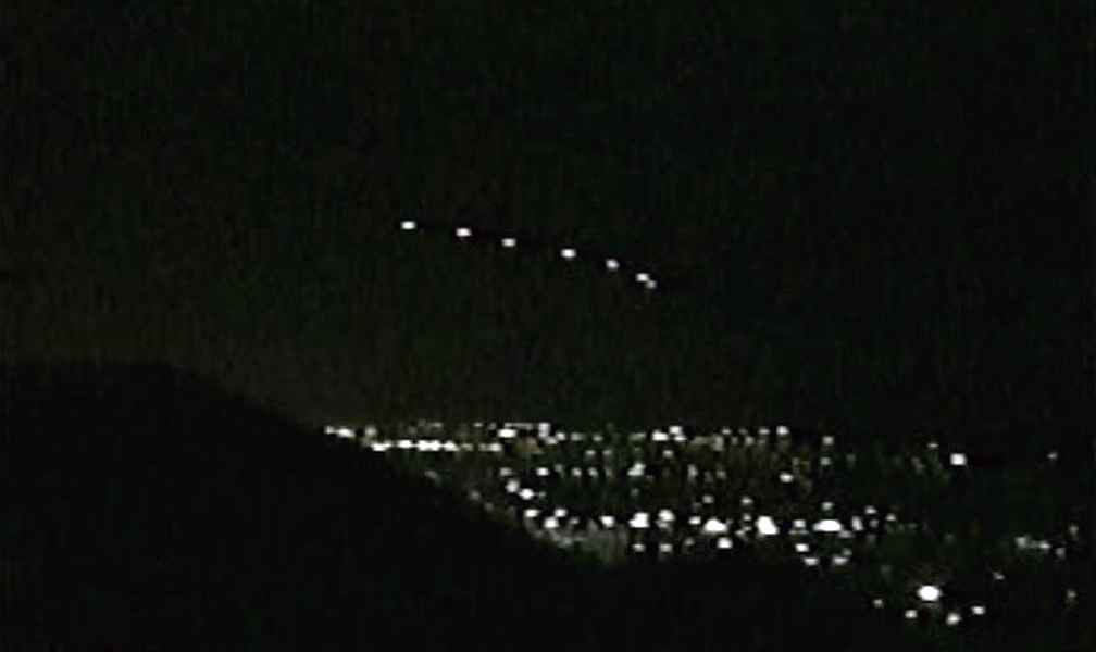 Captured Phoenix Lights UFO Phenomenon