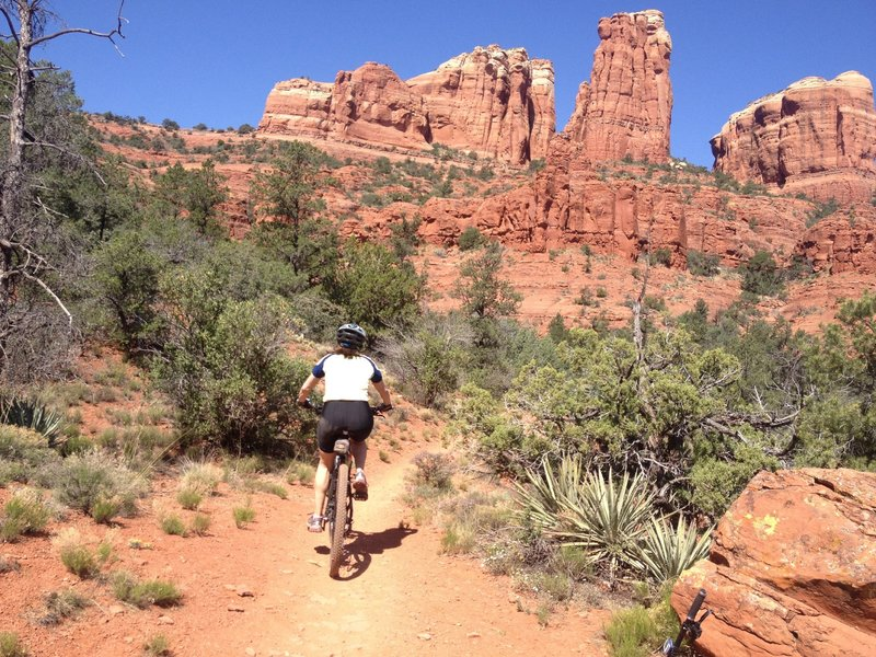 Cathedral Rock Big Loop best bike trails in arizona