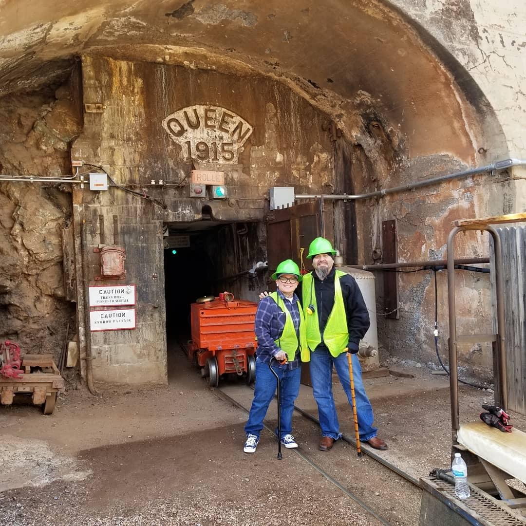 Copper Queen Mine Tour mining sites az