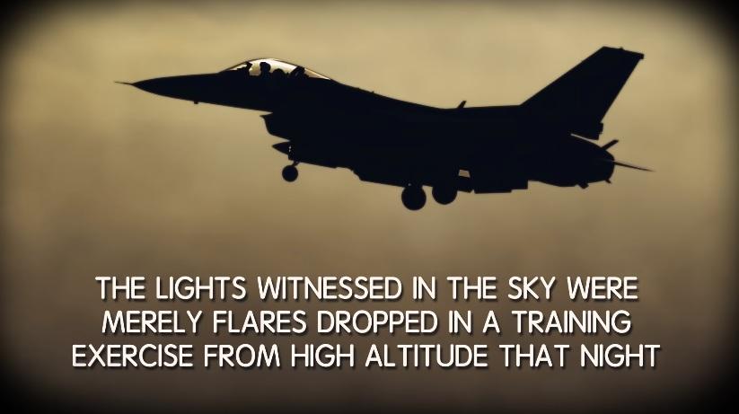 Flares UFO Sighting AZ