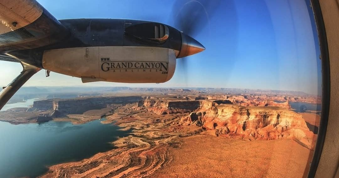Grand Canyon Fixed Wing Air Tour exploring Arizona from the skies