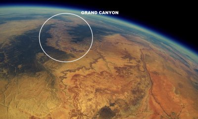 Grand Canyon from Space Amazing Photos