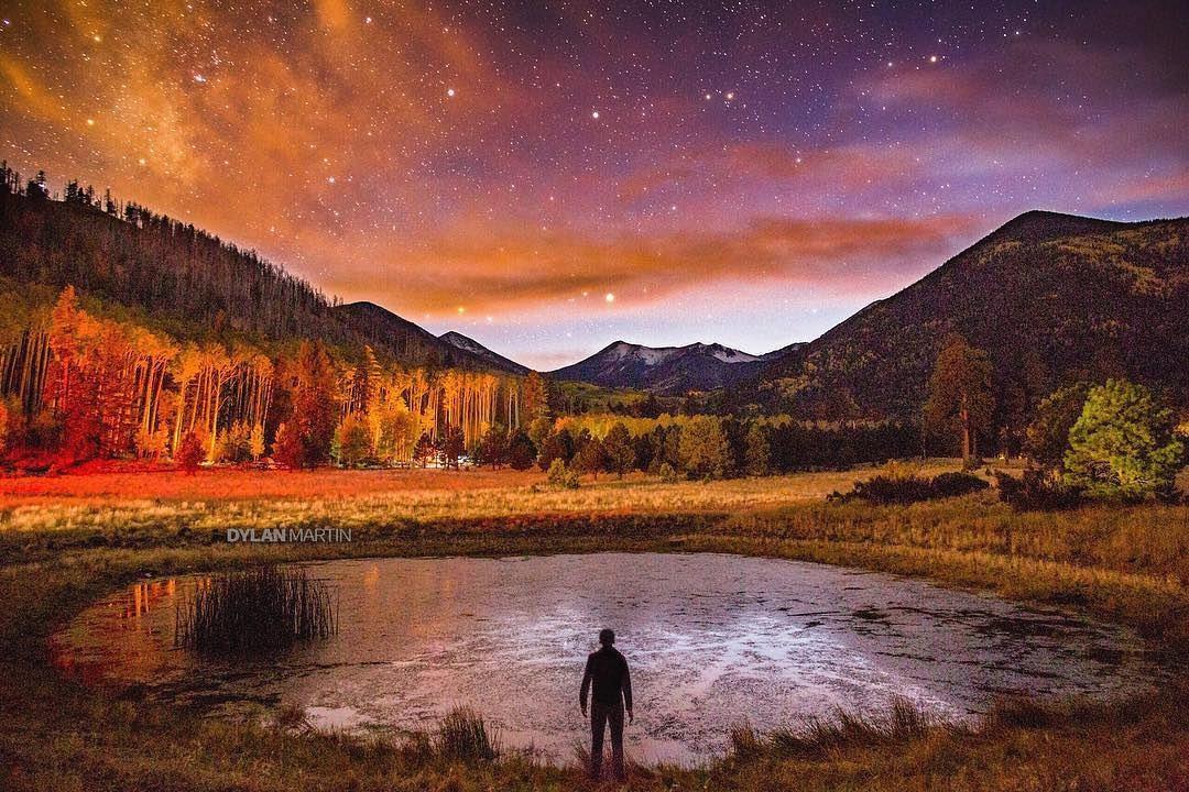 Arizona night sky beautiful photos