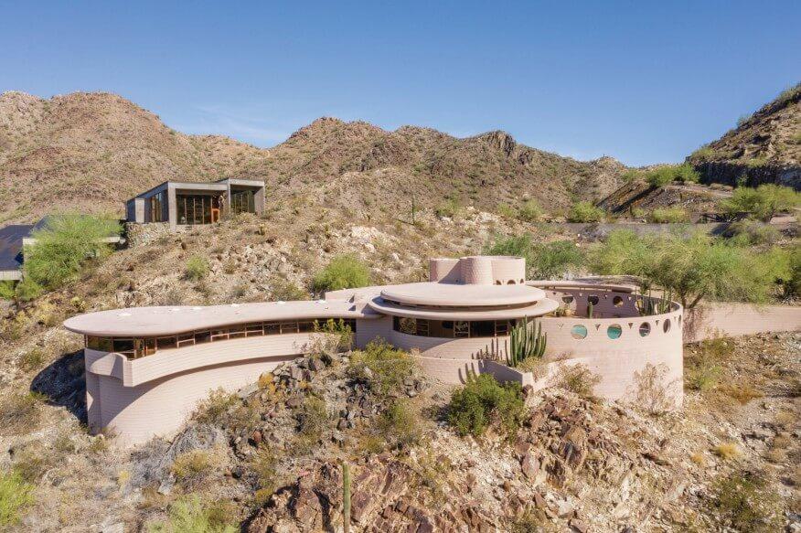 Norman Lykes House Last Design Frank Lloyd Wright Buildings in Arizona
