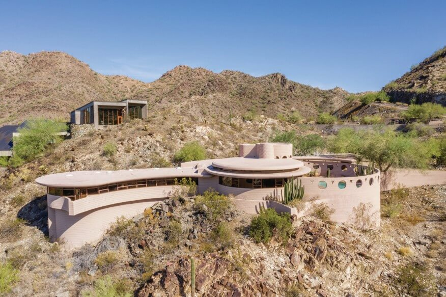 Norman Lykes House Last Design Frank Lloyd Wright Buildings in Arizona