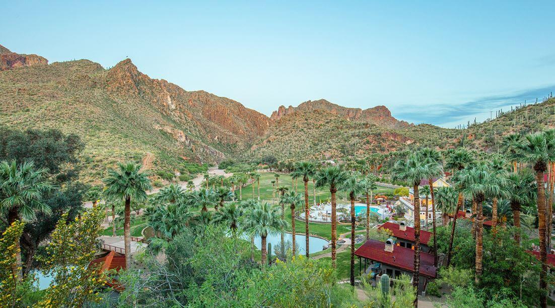 Oasis Escape AZ Beautiful Resort Castle Hot Springs