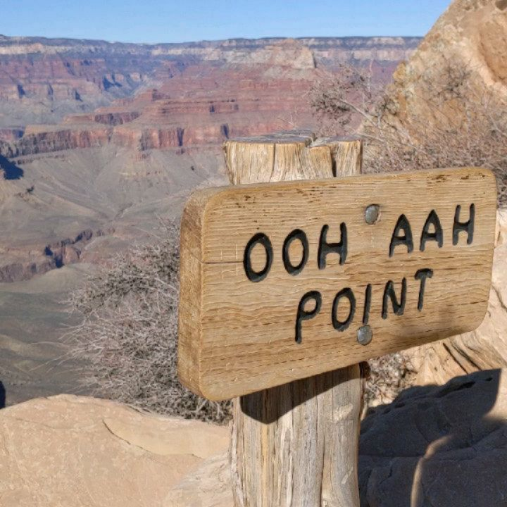 Ooh aah point grand canyon arizona