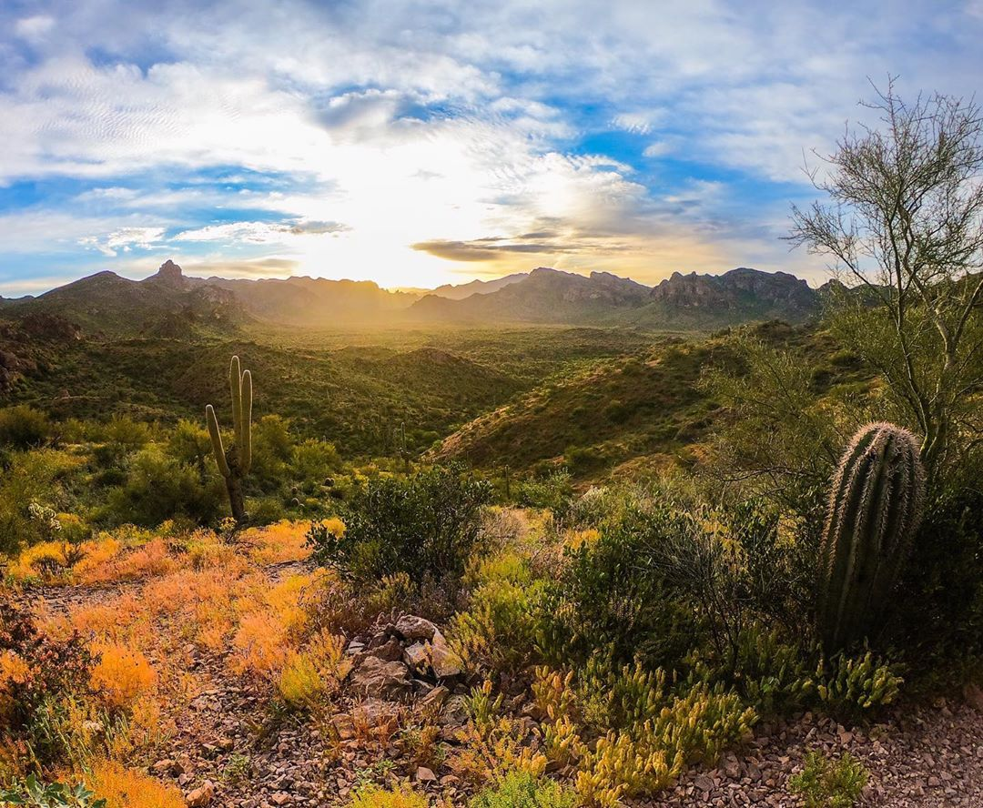 Peralta Trail Superstition Mountains
