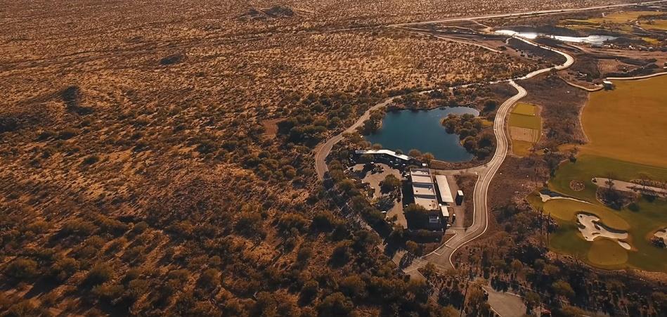 Phoenix arizona aerial view