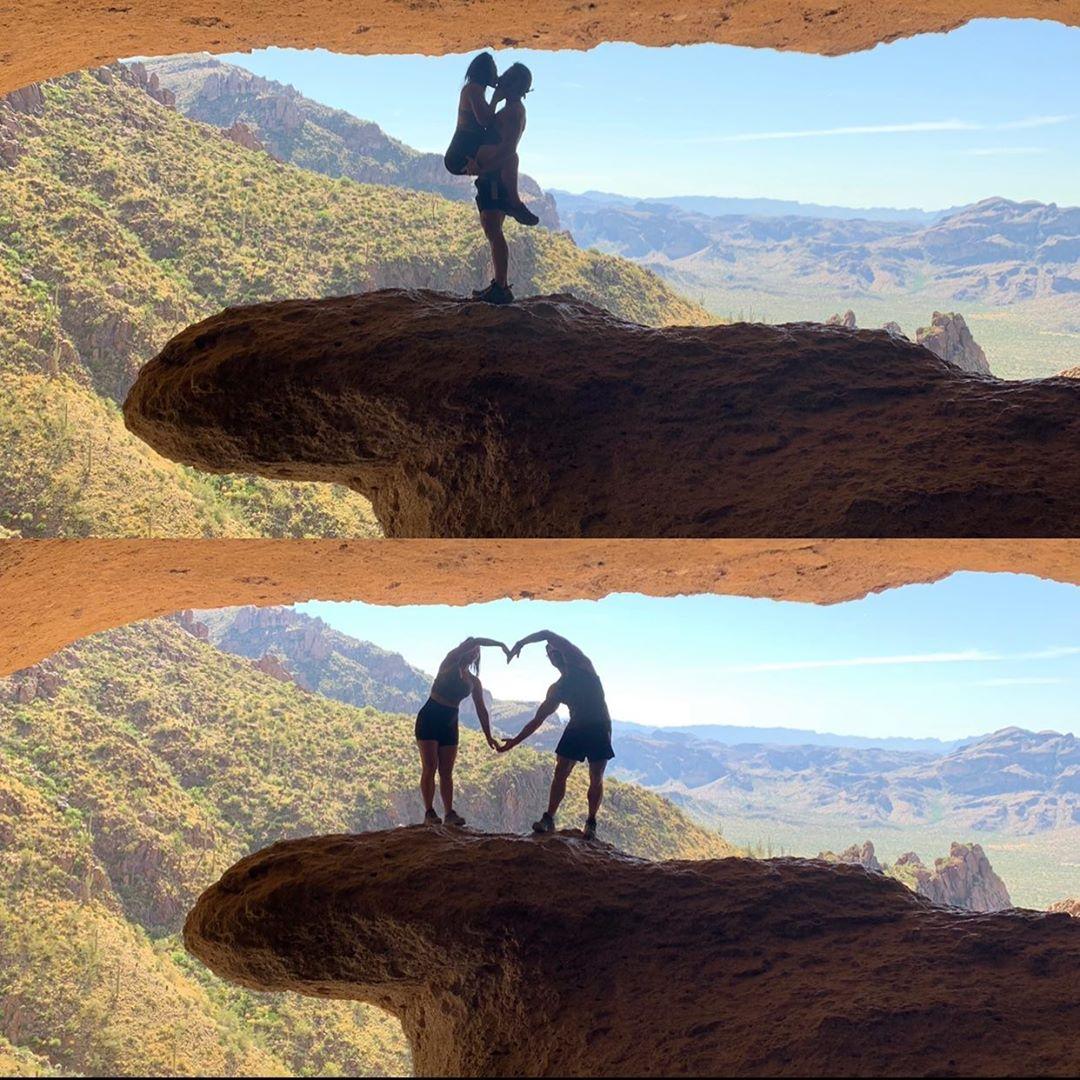 Romantic Pose trail az