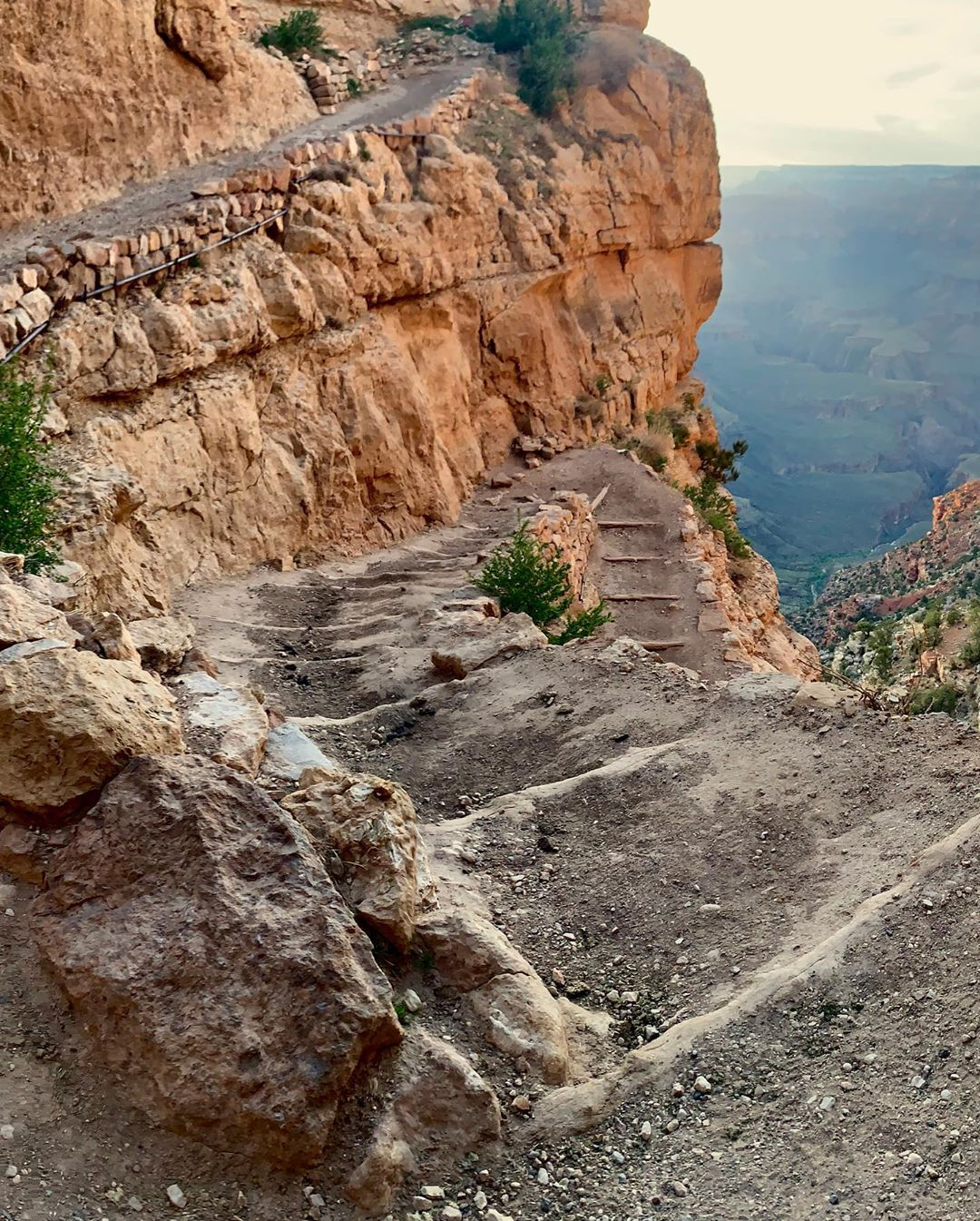South Kaibab Trail Hike ooh ahh point grand canyon az