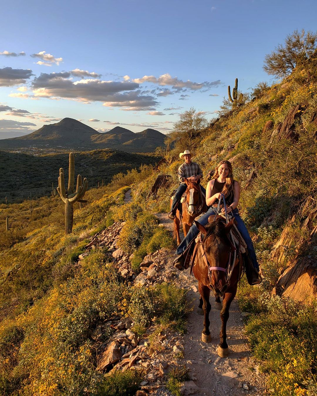 Sunset Ride horseback ride in phoenix
