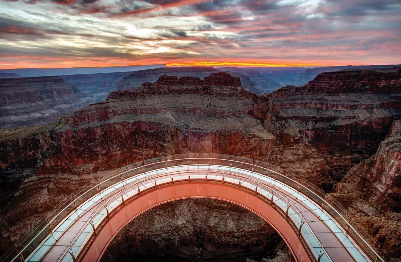 Grand Canyon Skywalk Arizonao