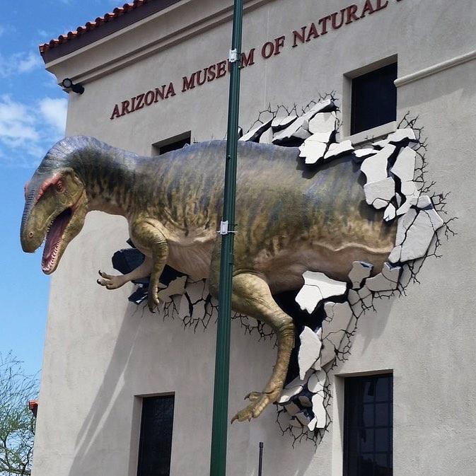 Arizona Museum of Natural History stopover Apache Trail Scenic Drive