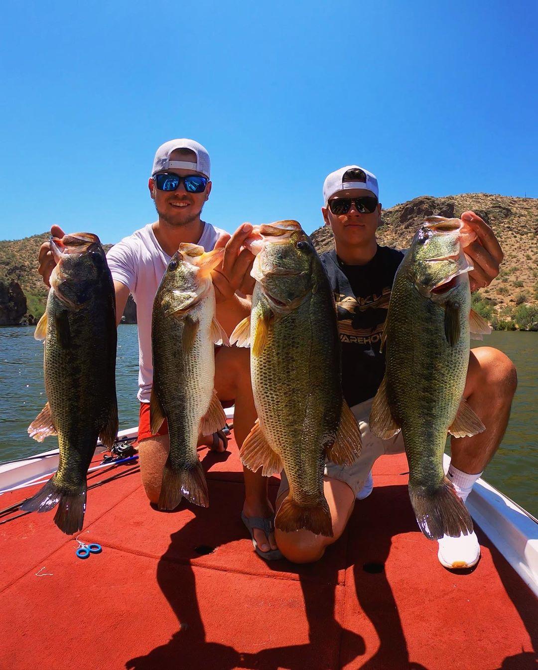 Fishing Saguaro Lake az