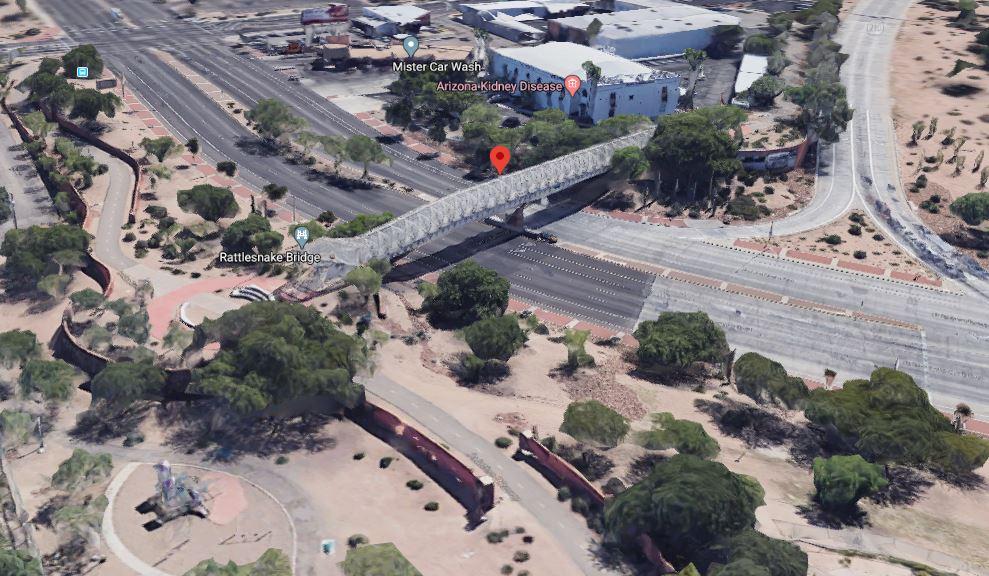 Google Earth View Rattlesnake Bridge az
