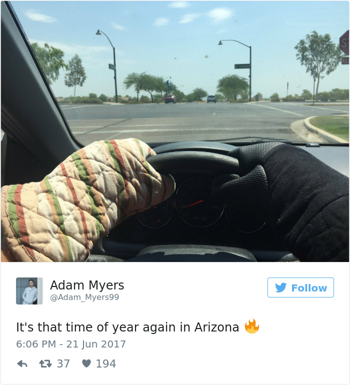 Hot in Arizona