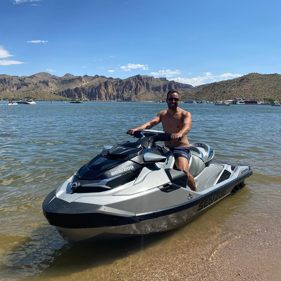 Jet Ski Saguaro Lake Water Activities
