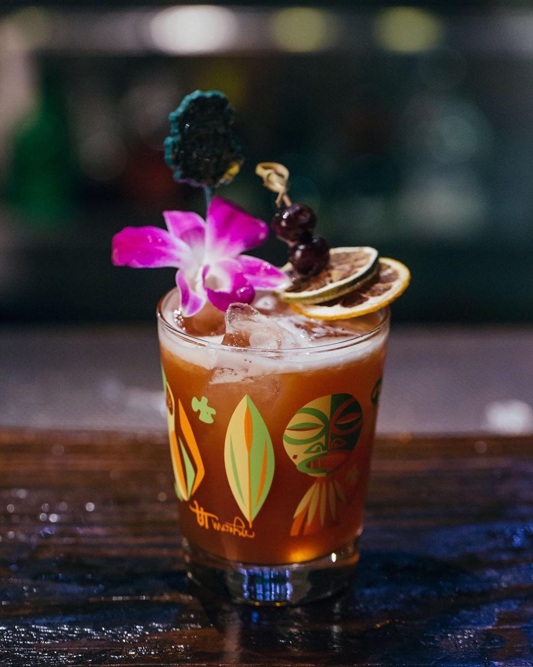 Jungle Bird drink cocktail