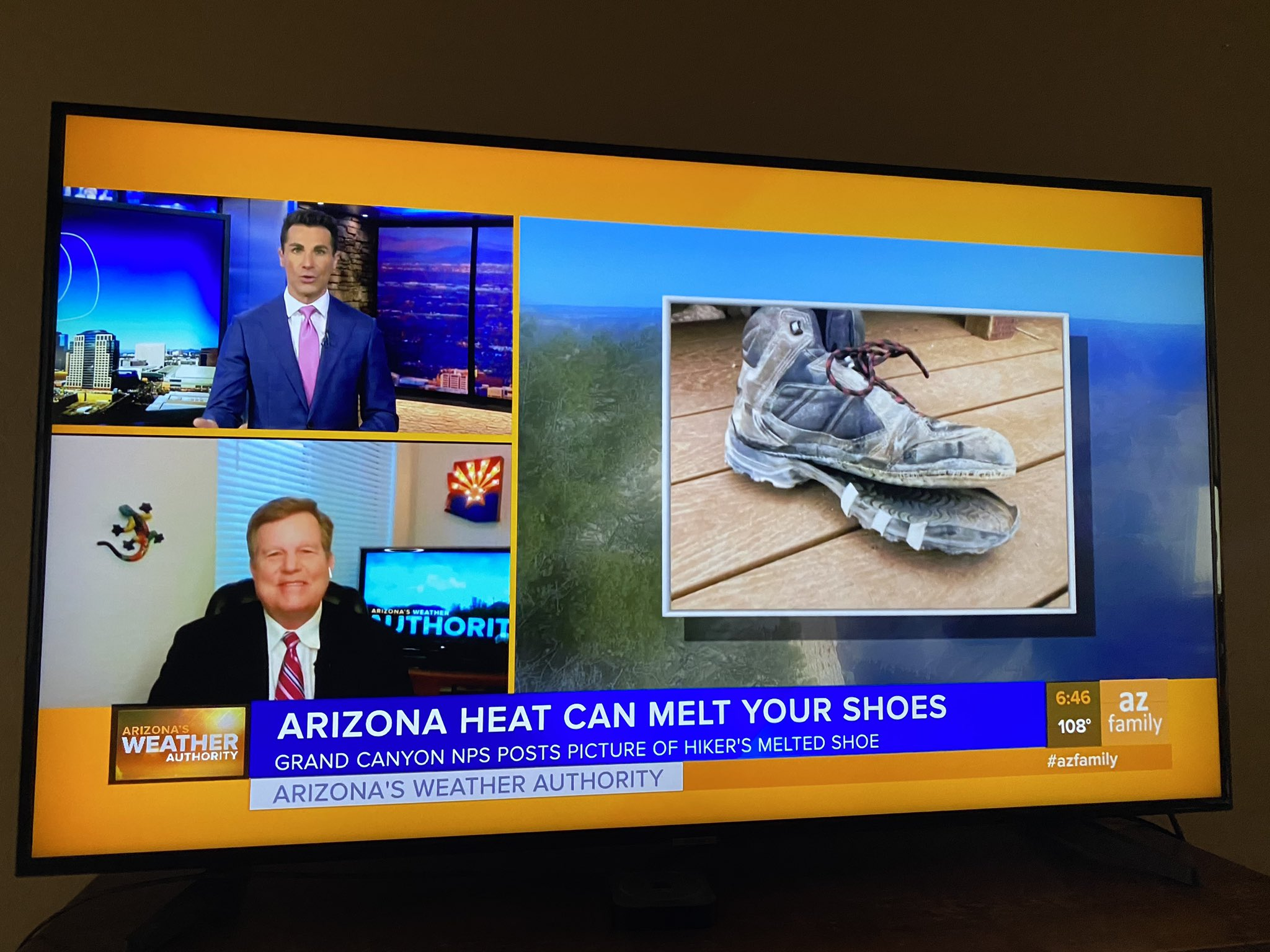 Melted Shoes arizona news