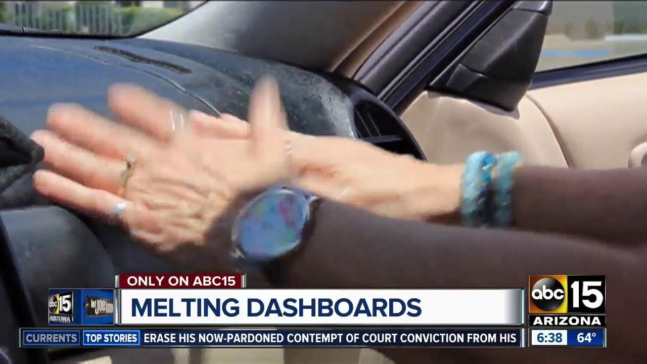 Melting Dashboards in arizona hot things melting in arizona