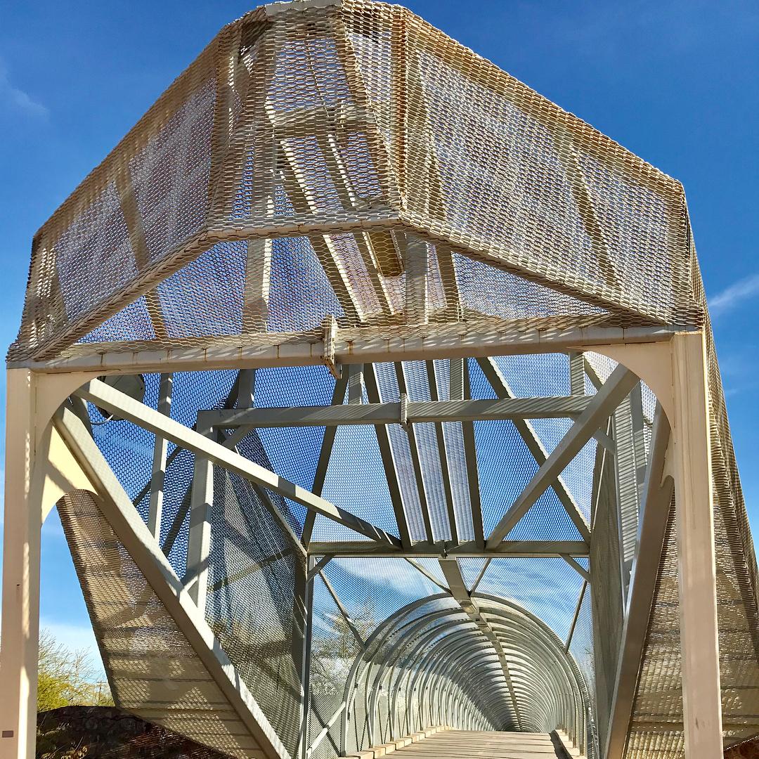 Metal Mesh Bridge details