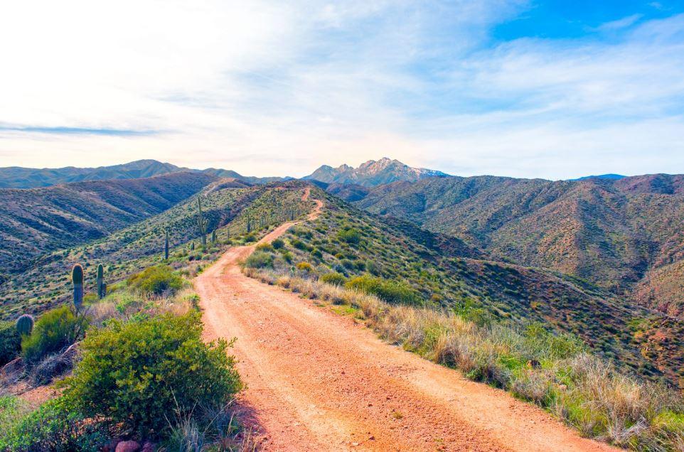 Unpaved Roads Apache Trail az