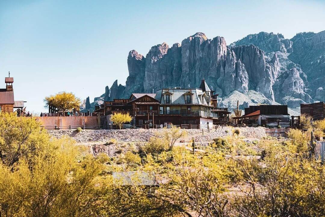goldfield mining towns in arizona